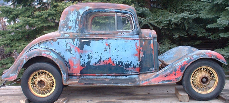 1934 Plymouth Coupe For Sale Craigslist >> 1933 Chevy Coupe Project For Sale | Autos Weblog