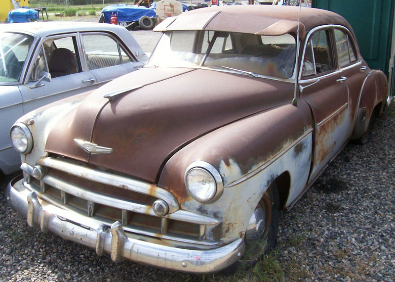 1949 chevrolet styleline deluxe 4 door sedan for sale