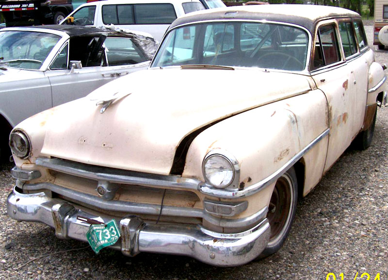 1953 Chrysler Windsor Town And Country 4 Door Station