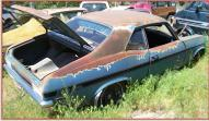 1972 Chevrolet Series X Rallye Nova 2 Door Coupe For Sale right rear view