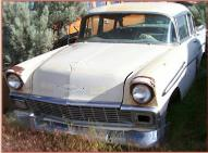 1956 Chevrolet Bel Air V-8 Series 2400C 4 Door Sedan For Sale left front view