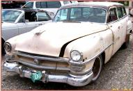 1953 Chrysler Windsor Town and Country 4 Door Station Wagon For Sale left front view
