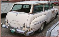 1953 Chrysler Windsor Town and Country 4 Door Station Wagon For Sale right rear view