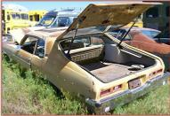 1973 Chevrolet Nova Hatchback 2 Door 350 V-8 4 Speed Coupe For Sale left rear view