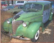 1939 Chevrolet Master Series JB 2 Door Sedan For Sale left front view