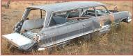 1963 Chevrolet Bel Air 4 Door 6 Passenger Station Wagon For Sale right side view
