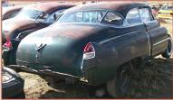 1951 Cadillac Series 61 2 Door Hardtop Sport Coupe For Sale right rear view