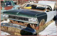 1966 Chevrolet Chevelle Malibu 2 Door Hardtop Body & Chassis For Sale left front view