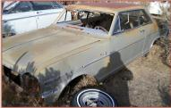 1964 Chevrolet Chevy II Nova Six 2 Soor Hardtop For Sale $3,500 left front view