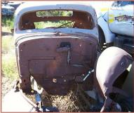 1935 Oldsmobile Series F Six 2 Door 3 Window Hotrod Coupe For Sale $7,500 front view
