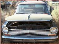 1963 Chevrolet Chevy II Nova 400 Six 4 Door Station Wagon For Sale front view