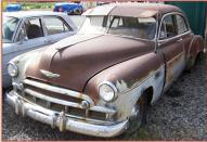 1949 Chevrolet Styleline Deluxe 4 Door Sedan For Sale left front view