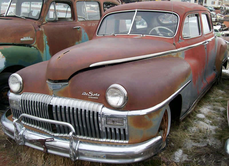 1948 desoto custom 4 door sedan for sale. Black Bedroom Furniture Sets. Home Design Ideas