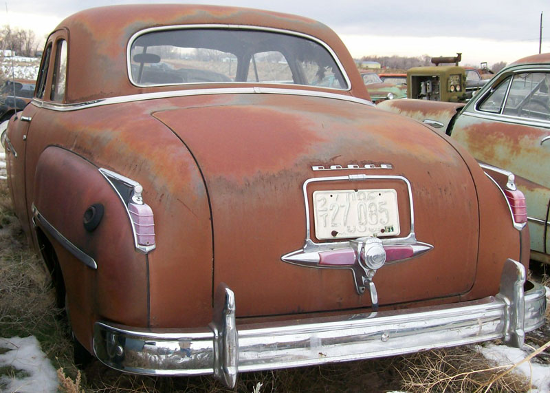 1949 Dodge Coronet Club Coupe 2 Door Sedan For Sale