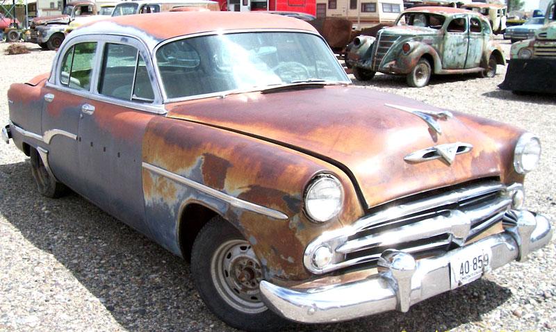 1954 dodge coronet v 8 four door sedan for sale right front view