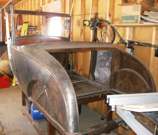 1928 Ford Model A 5 Window Coupe Body For Sale 3000 Left Rear View