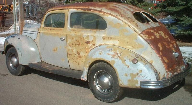 1939 Ford Deluxe Model 91a 2 Door Fastback Sedan For Sale