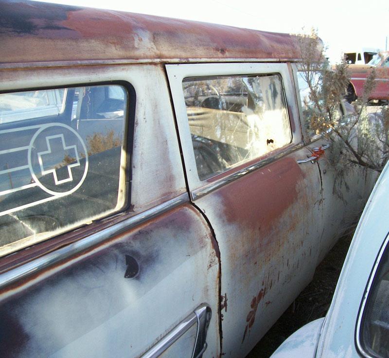 1952 Ford Customline V-8 4 Door Station Wagon Commercial Ambulance ...