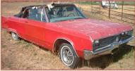 1967 Chrysler Newport Series Model CC1-E Convertible For Sale right front view