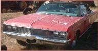 1967 Chrysler Newport Series Model CC1-E Convertible For Sale left front view
