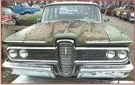 1959 Edsel Villager 6 Passenger 4 Door Station Wagon For Sale front view