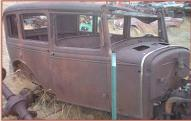 1931 Ford Model A Slant Window Steel Body 4 Door Sedan For Sale right front view