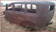 1931 Ford Model A Slant Window Steel Body 4 Door Sedan For Sale left rear view