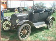 1917 Ford Model T 3 Door 5 Passenger Touring Car For Sale left front view