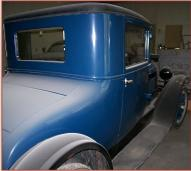 1927 Dodge Special Series 126-Four 3 Window 2 Passenger Coupe For Sale right rear view