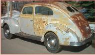 1939 Ford DeLuxe Model 91A 2 Door Fastback Sedan For Sale left rear view