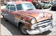 1954 Dodge Coronet V-8 Four Door Sedan For Sale right front view