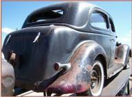 1935 Ford Standard Model 48 V-8 Tudor Trunk Back Sedan For Sale right rear view