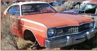 1973 Dodge Dart Sport 2 Door Hardtop right front view