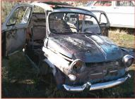 1959 Fiat 500 Nuova 2 Door Mini Car Coupe For Sale $5,000 right front view