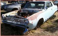 1965 Dodge Dart GT 2 Door Hardtop 273 V-8 For Sale $4,500 left front view