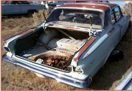1965 Dodge Dart GT 2 Door Hardtop 273 V-8 For Sale $4,500 right rear view