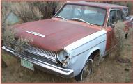 1964 Dodge Dart 4 Door Station Wagon left front view