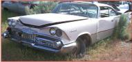 1959 Dodge Coronet Lancer 2 Door Hardtop For Sale left front view