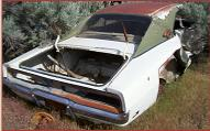 1969 Dodge Charger XP29 2 Door Hardtop For Sale right rear view