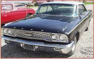 1963 1/2 Ford Galaxie 500 2 Door Hardtop 427 V-8 For Sale $19,000 left front view