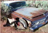 1965 Chrysler Imperial Crown Coupe 2 Door Hardtop right front view