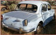 1960 Fiat 1100 Model 103 Special 4 Door Sedan For Sale right rear view