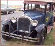 1926 Dodge Standard Series 126 Foor Door Sedan For Sale left front view