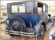 1926 Dodge Standard Series 126 Foor Door Sedan For Sale right rear view