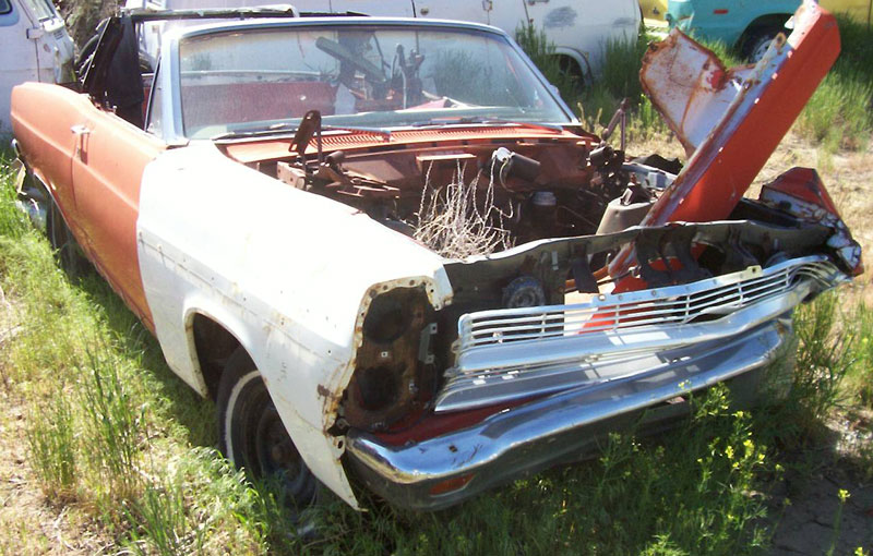 1967 Ford Fairlane 500XL Convertible For Sale Right Front View