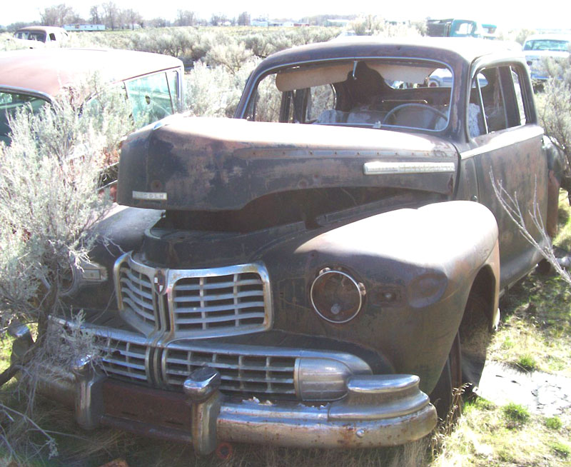 1946 Lincoln Model 66H Body 77 5 Window Club Coupe For Sale