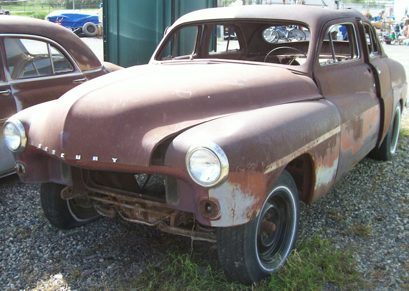1951 mercury 4 door sport sedan body and chassis for sale for 1951 mercury 4 door sedan