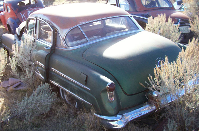 1951 Oldsmobile Ninety Eight 98 4 Door Sedan For Sale