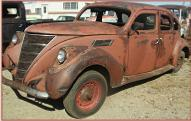 1937 Lincoln-Zephyr Twelve 4 Door Sedan For Sale left front view