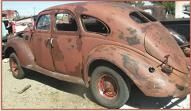 1937 Lincoln-Zephyr Twelve 4 Door Sedan For Sale left rear view